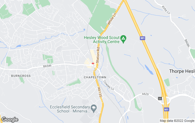 Map for Hunters, Chapeltown