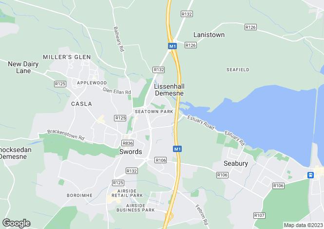 Map for 4 Lissen Manor, Block 1, Seatown Road , Swords, Dublin