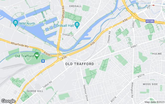 Map for Oakleaf Manchester, Manchester