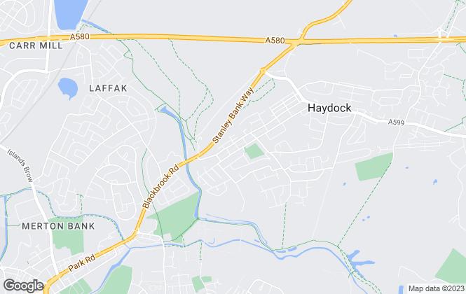 Map for A Home 4 U, Haydock