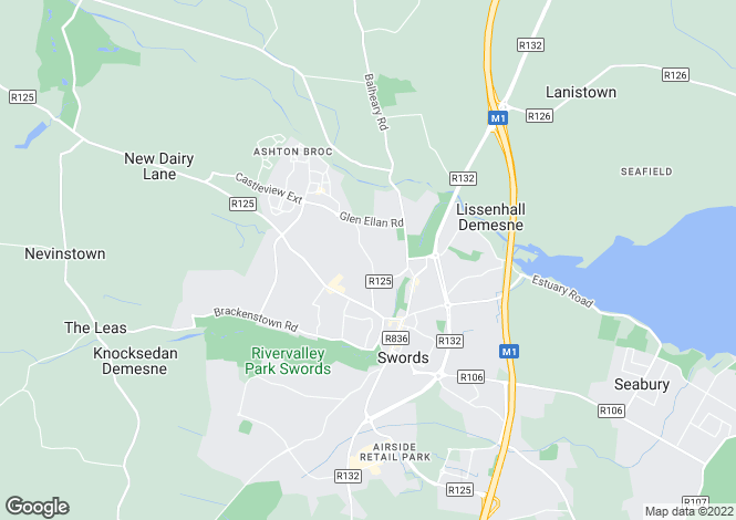 Map for 3 Broadmeadows, Swords, Co Dublin, K67 C4H1
