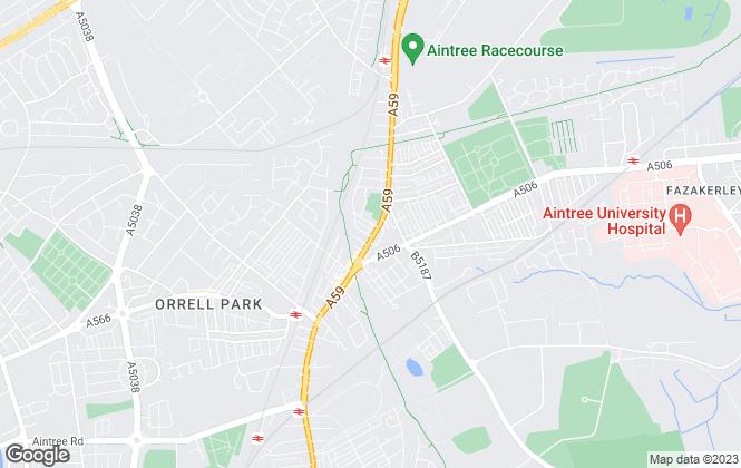 Map for Moor Estate Agents Ltd, Liverpool