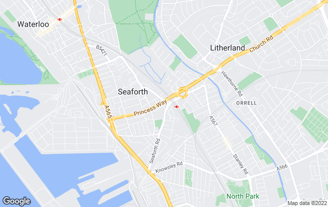 Map for Citylets, Liverpool