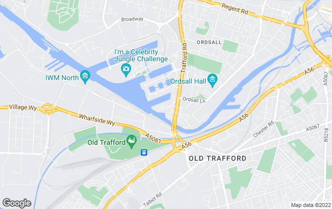 Map for Beyond Residential , Salford Quays
