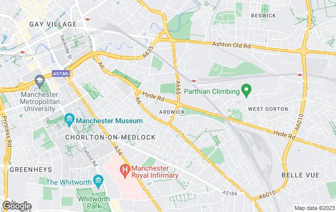 Map for Cariocca Enterprises, Manchester
