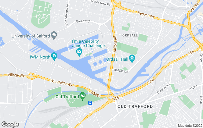 Map for Quay Property, Salford