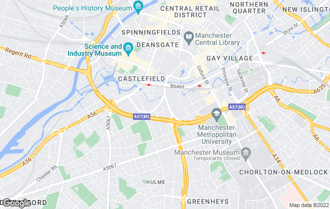 Map for Cherish Property Ltd, Manchester
