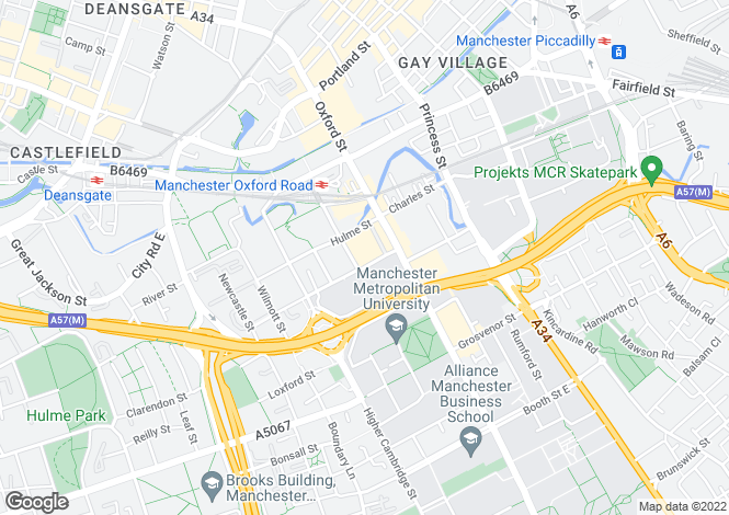 Map for The Quadrangle