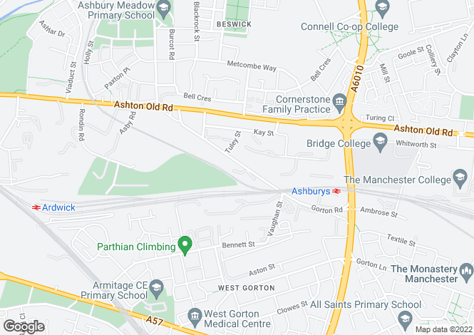Map for City East, Old Ashton Road, Beswick, Manchester, Greater Manchester, M11