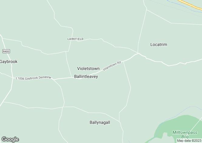 Map for Enniscoffey, Gaybrook, Mullingar, Co Westmeath