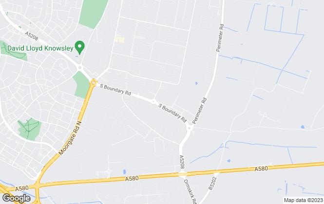 Map for Doran Kennedy Estate Agents Ltd, Kirkby