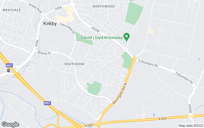 Map for Doran Kennedy Estate Agents Ltd, Kirkby