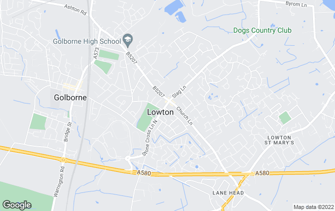 Map for Stonecross Estate Agents, Lowton