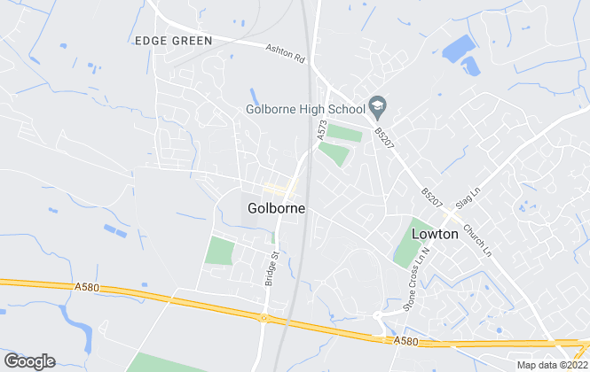 Map for Linder Griffiths, Golborne