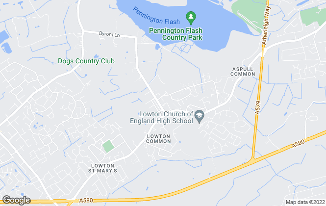 Map for Robinson & Lyon, Lowton