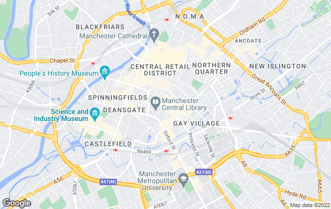 Map for OBI PROPERTY LIMITED, Manchester