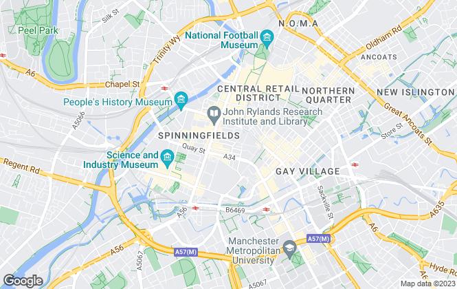Map for NPP Lettings Ltd , Manchester