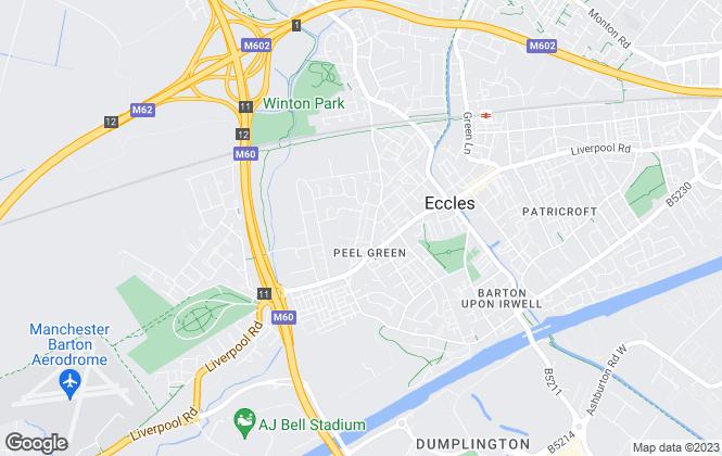 Map for Fairhome Property Management Ltd  , Eccles