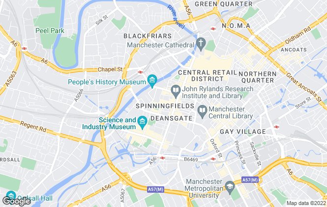 Map for Lambert Smith Hampton, Manchester Retail