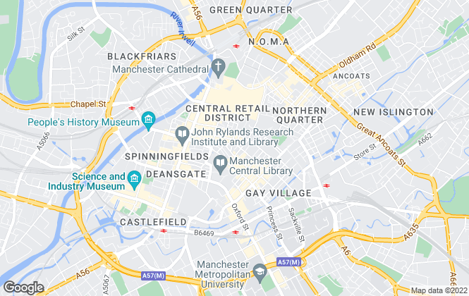 Map for Christie & Co , Manchester