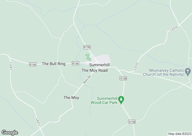 Map for 1 Allen Dara , Summerhill, Meath