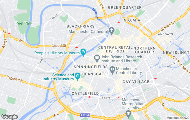 Map for Complete Prime Residential Ltd, Manchester