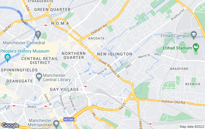 Map for Let's Inspect ... Lettings, Inspections and Property Management Company, Manchester