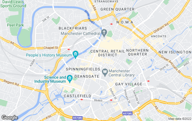 Map for Edwards & Co Surveyors Limited , Manchester