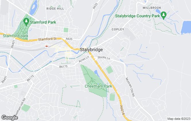 Map for Hunters, Stalybridge