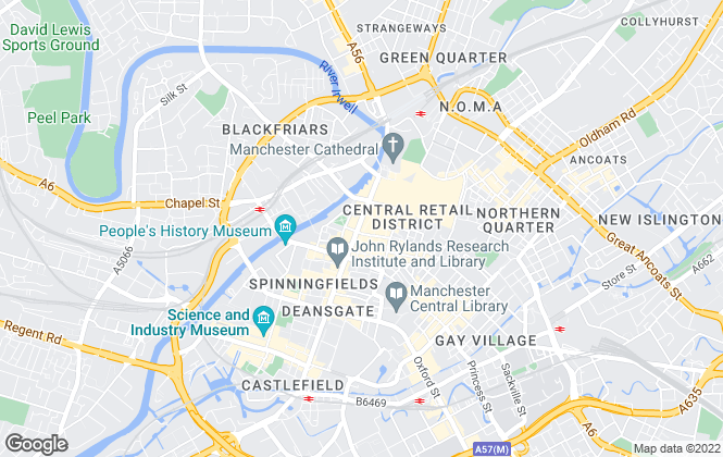Map for Landwood Group , Manchester