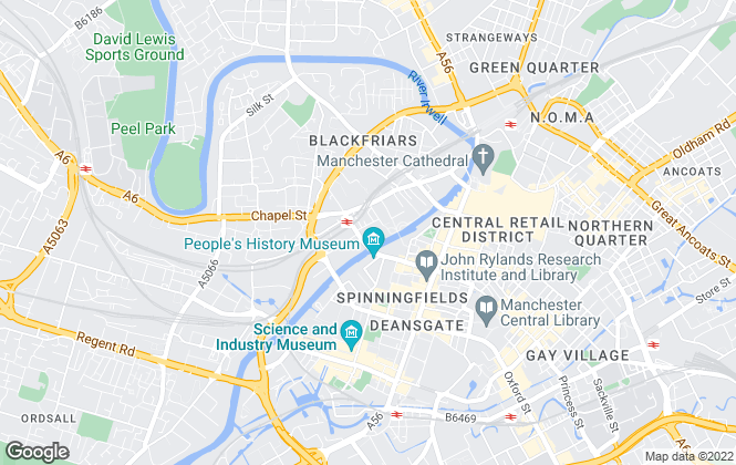 Map for Clearwater Lettings, Manchester