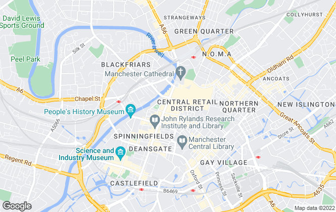 Map for City Centre Chic, Manchester