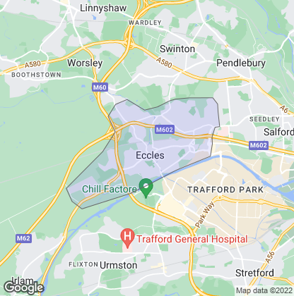 Map of property in Eccles