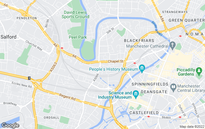 Map for Kaytons Estate Agents, Manchester