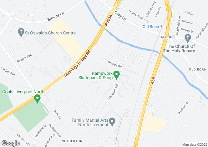 Map for Units 4, 7 & 8, Wakefield Trade Park, Wakefield Road, Liverpool, L30 6TZ
