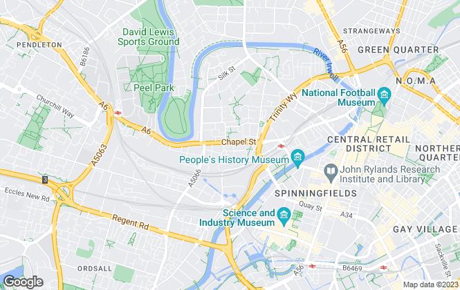 Map for Thornley Groves, Manchester Vimto Gardens