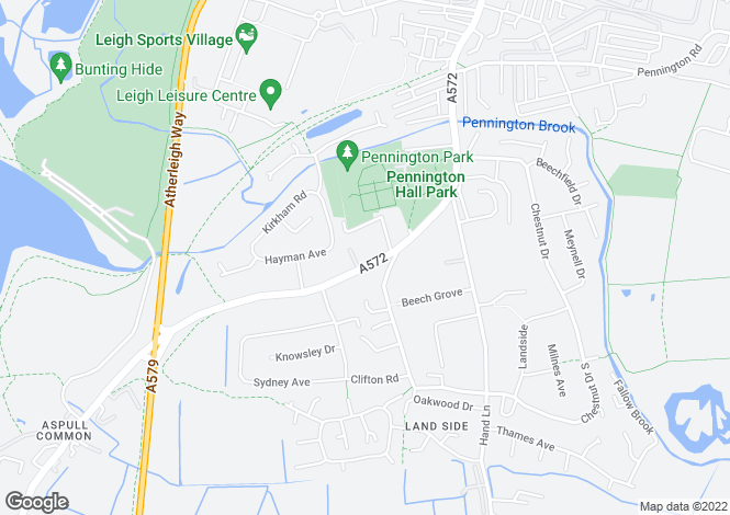 Map for GORSE BANK