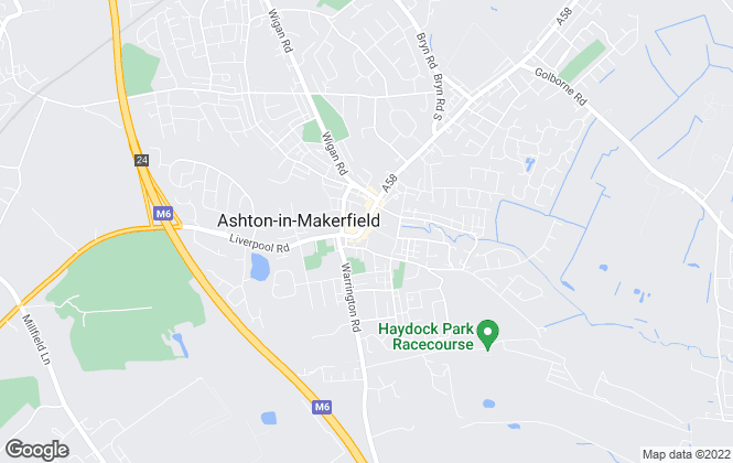 Map for Ashtons Estate Agency, Ashton-In-Makerfield