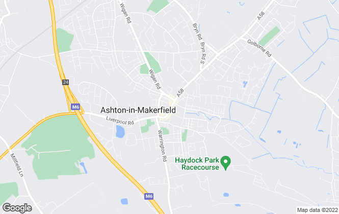 Map for Kelrick Properties, Ashton-in-Makerfield