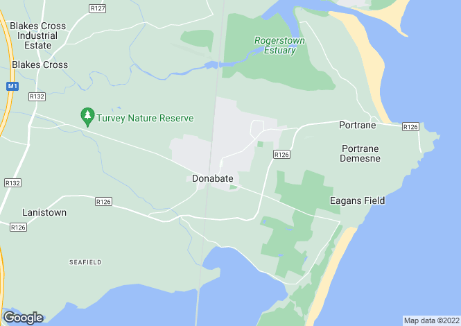 Map for Site with FPP for 5 houses at The Fairways, , Donabate, County Dublin