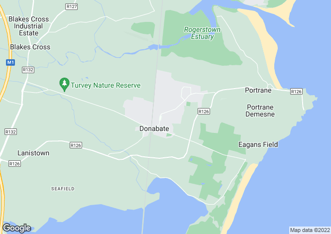 Map for Site with FPP for 5 houses at The Fairways, , Donabate, Dublin