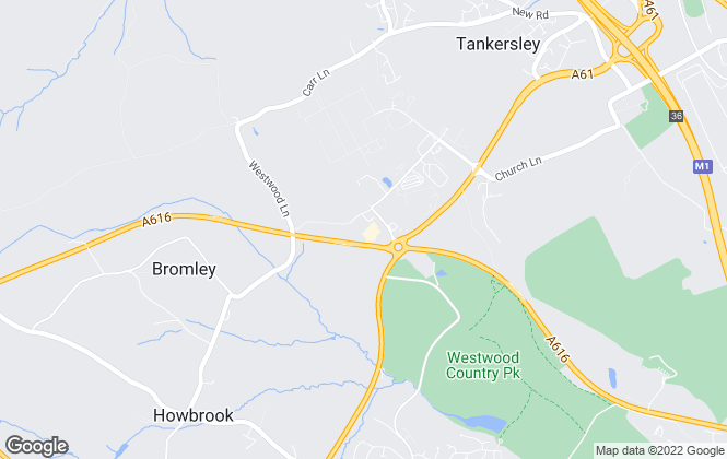 Map for ASG Estates Limited, Tankersley