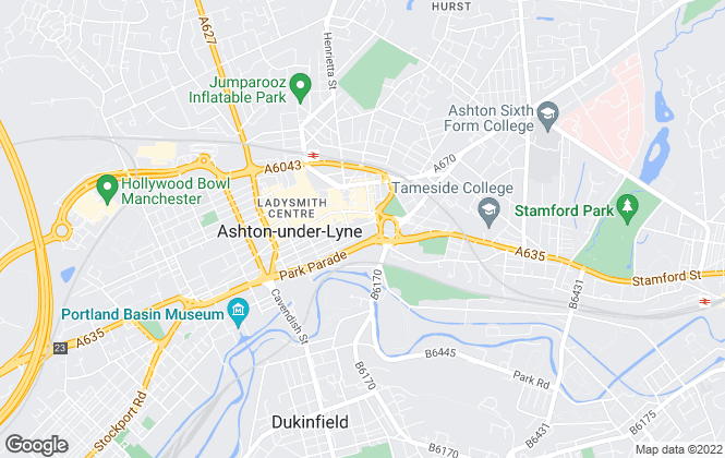 Map for Loram Lettings, Ashton-Under-Lyne