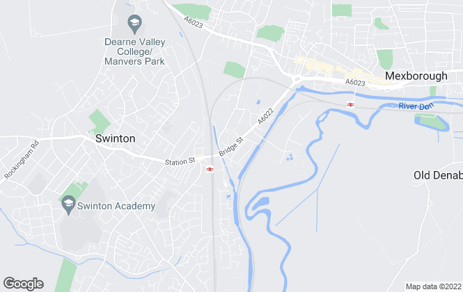 Map for Bridge Property Management , Mexborough