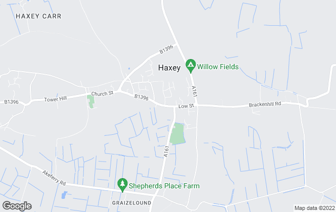 Map for Grice and Hunter, Haxey