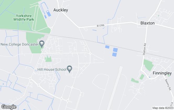 Map for G2M Residential Ltd, Doncaster