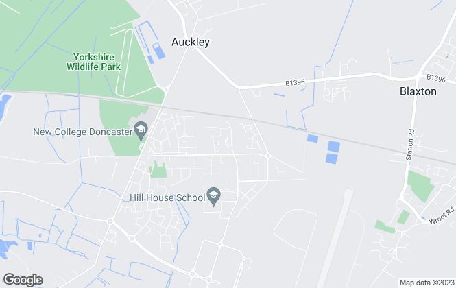 Map for Habodel, UK, Doncaster