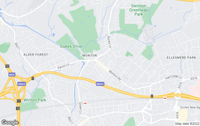 Map for Home Estate Agents, Monton