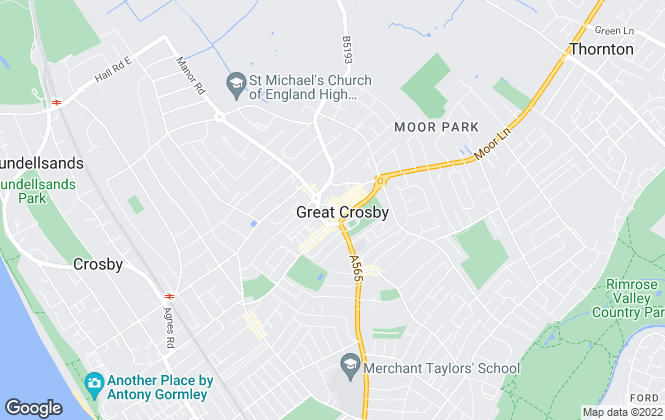 Map for Abode Group (NW) Ltd, Crosby