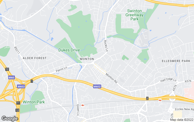Map for Barlow White Estates, Monton
